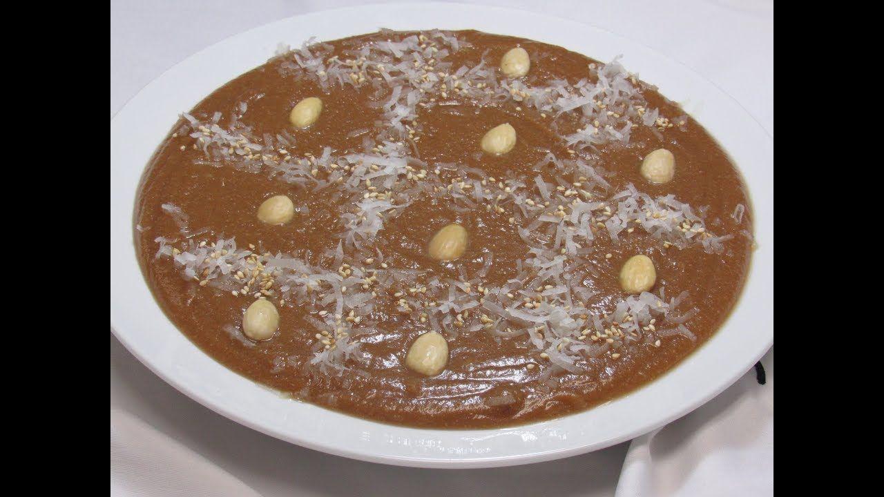 حلاوة الحليب والطحين بأسهل و اسرع طريقه و الطعم خيالي Flour Sweet Sweets Recipes Food Recipies Arabic Sweets Recipes