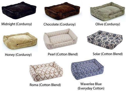 Jax & Bones Lounge Dog Bed - More Colors Available | PetFoodDirect