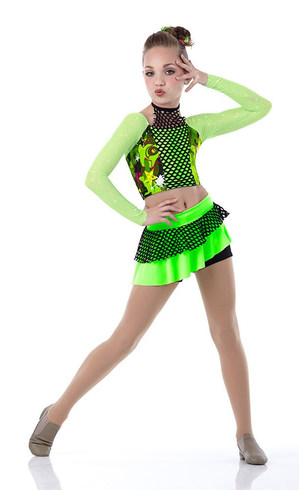 """Maddie Ziegler modeled for """"Cicci Dance"""" [2014] 