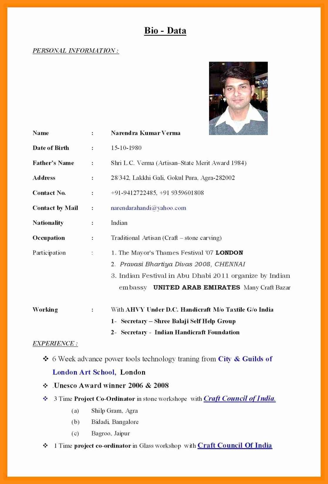 910 biodata for marriage pdf in 2020