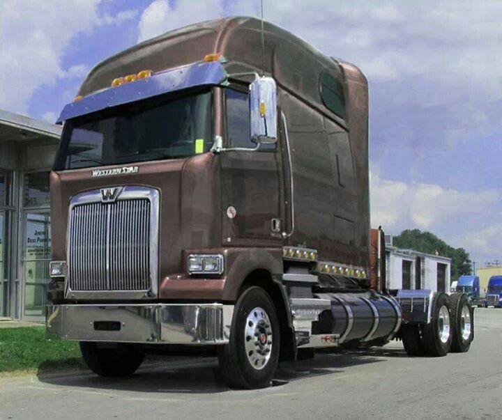 Rare Western Star Coe Western Star Trucks Freightliner Trucks Big Rig Trucks