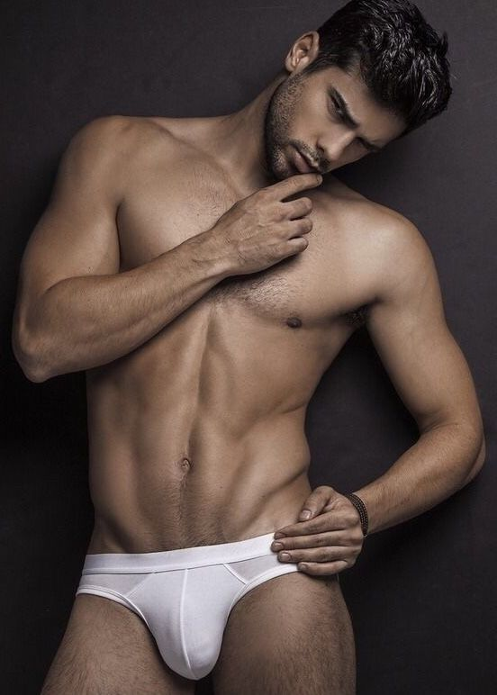 The white briefs with fantastic man