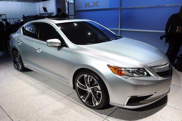 Acura Ilx Concept Ushers In Era Of Entry Level Luxury Acura Ilx Best New Cars Acura