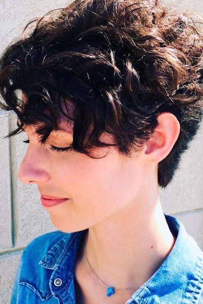 1001 + ideen für kurzhaarfrisuren für lockiges haar