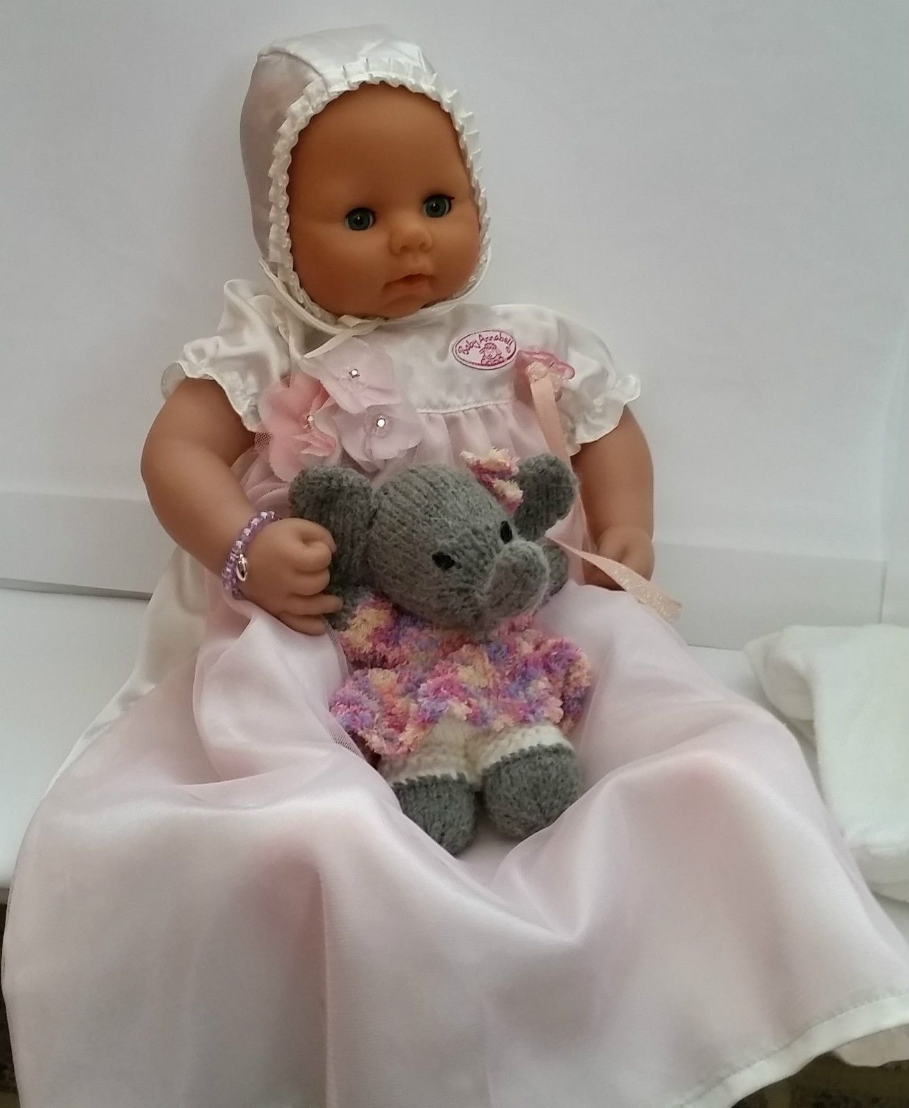 original Baby Annabell with Christening Gown & Extra Bundle by Zapf ...