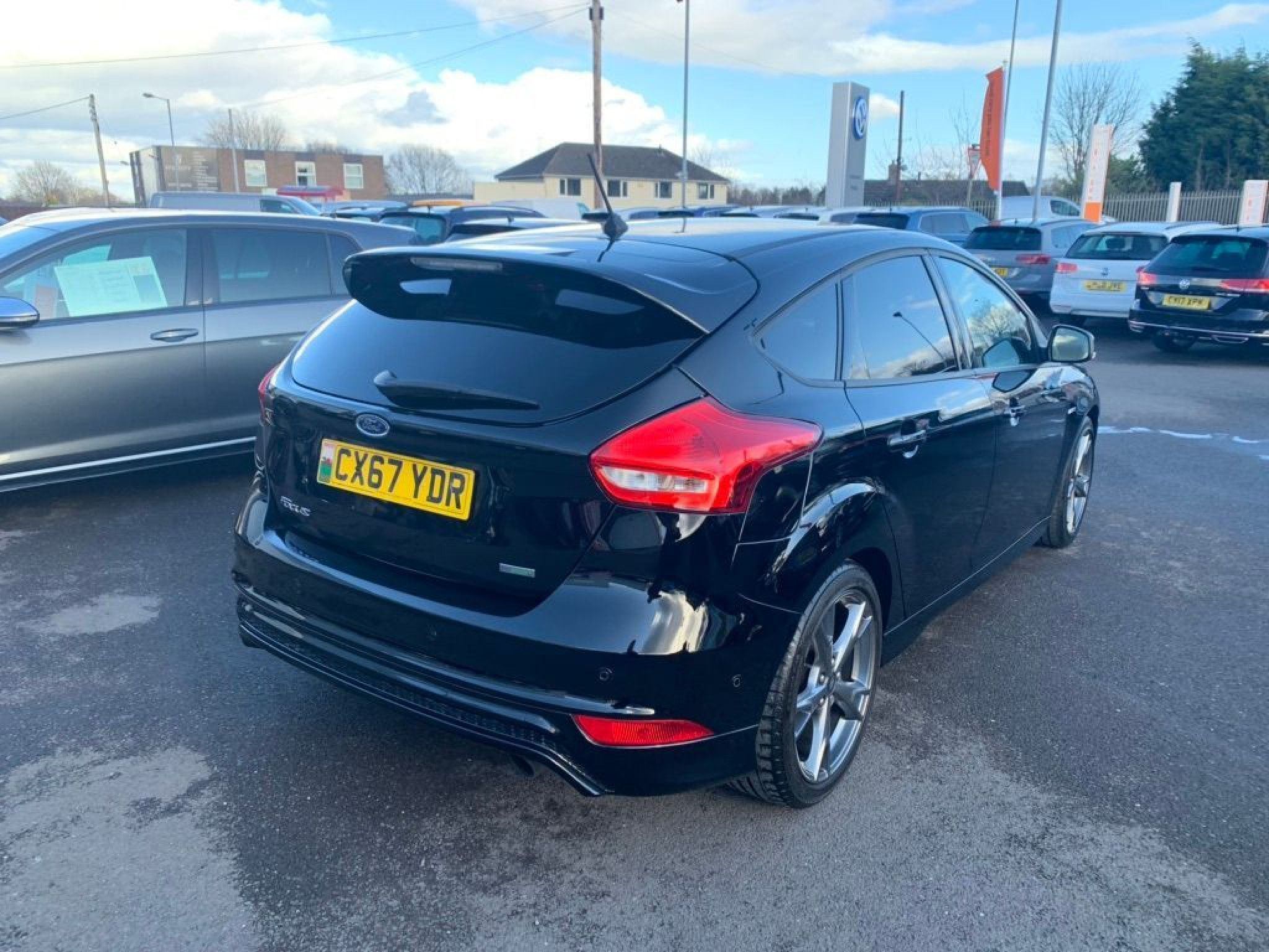 Ford Focus 1 5 Ecoboost 182 St Line X 5dr In 2020 Ford Focus