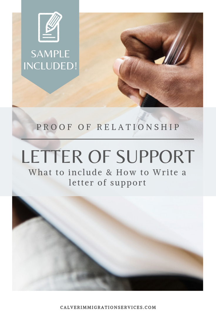 Proof Of Relationship Letter Sample from i.pinimg.com