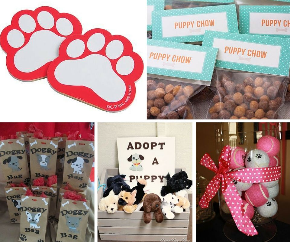 Puppy Dog Party Favors