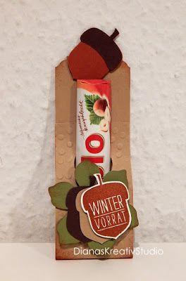stampin up Verpackung Wintervorrat Duplo Herbst  Goodies