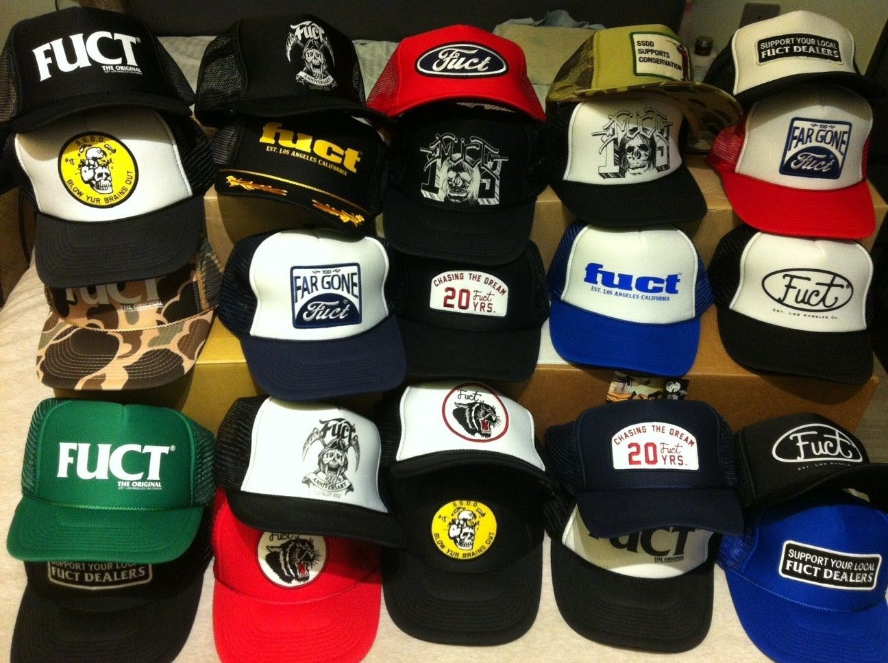 b6f5a0edf Fuct Caps Hats Private Collection Brand New | eBay ...