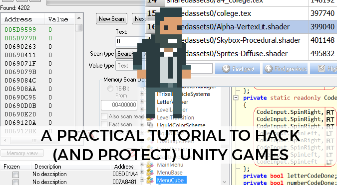 Unity games are very easy to hack
