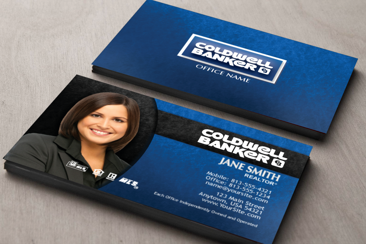 We Ve Got Coldwell Banker Realtors Covered With Our New Business Cards Realt Stunning Business Cards Realtor Business Cards Professional Business Card Design