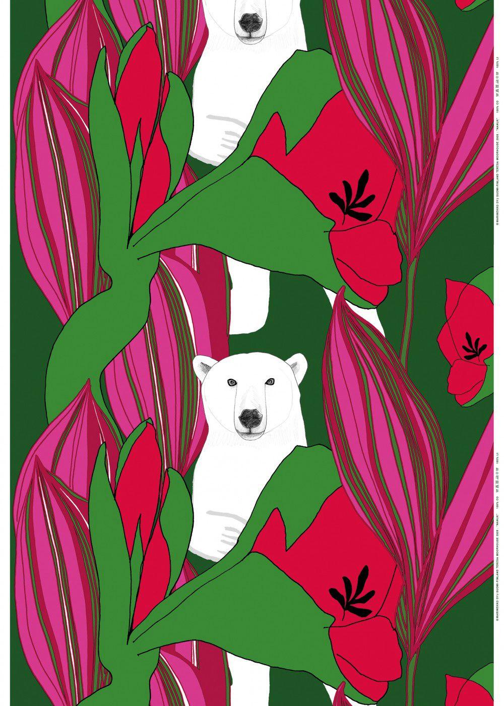 Nanuk fabric by Marimekko //