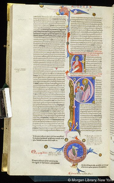 Bible, MS M.436 fol. 401v - Images from Medieval and Renaissance Manuscripts - The Morgan Library & Museum