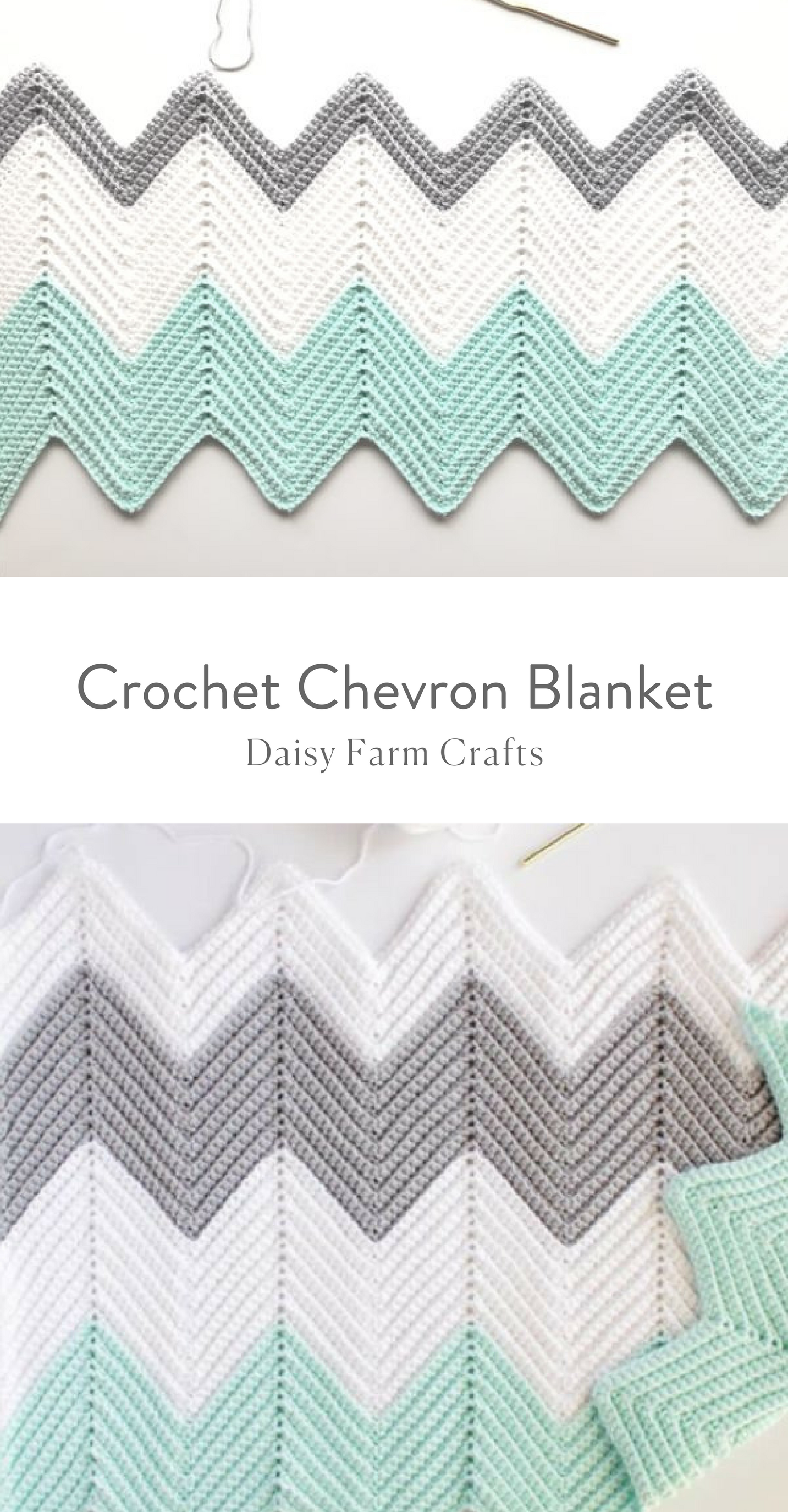 Free Pattern - Crochet Chevron Blanket | Crochet patterns ...