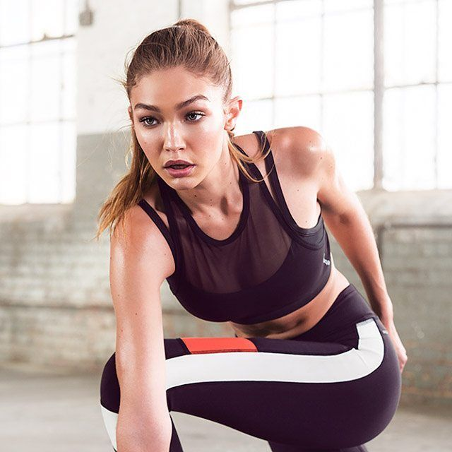 #New Gigi Hadid for Reebok's #Perfectnever Campaign