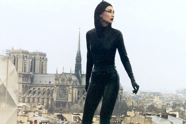 Maggie Cheung as Irma Vep | Maggie cheung, Female dragon, Maggie