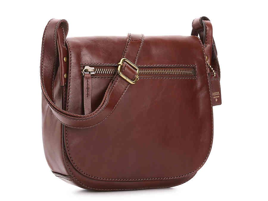 ec9176c3eb Fossil Vintage Legacy Leather Crossbody Bag
