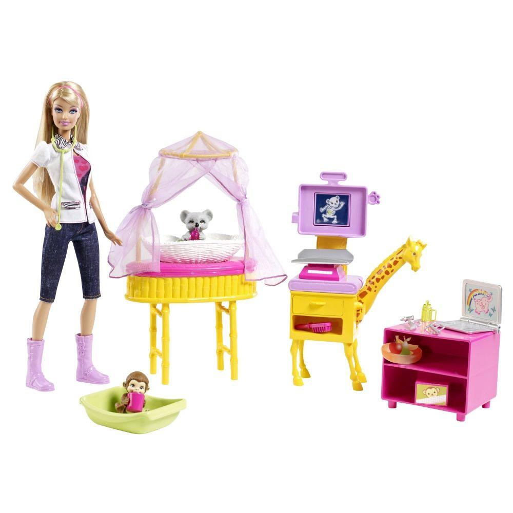 Barbie I Can Be Zoo Doctor Play Set Shop Mattel Com
