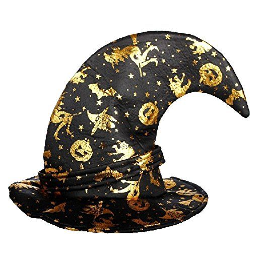 Halloween Wizard Witch Hats Caps for Party Fancy Dress Cosplay Costume