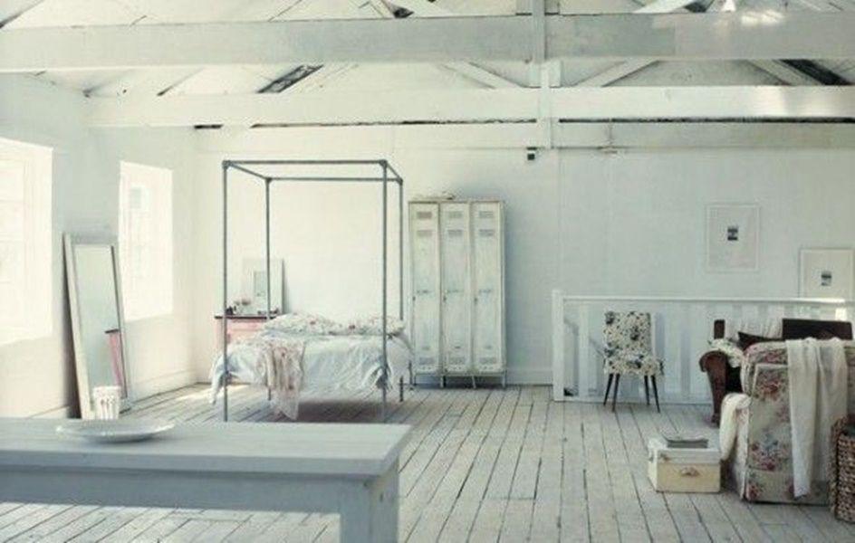 Camera Da Letto Shabby Chic Moderno : Loft in minimal shabby chic decor shabby chic pinterest