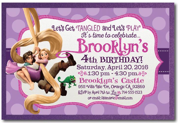 Tangled Birthday Invitations Tangled Rapunzel Birthday Invitation Di 227 Rapunzel Invitations Tangled Invitations Rapunzel Birthday Party