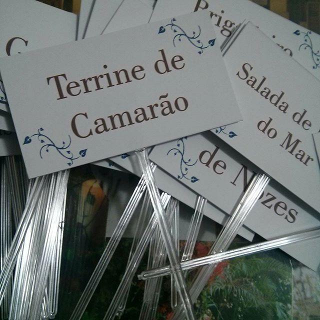 Plaquinhas para identificar mesa de antepastos, by Mão de Anjo #maodeanjo #casamentopersonalizado #personalizados #casamentos