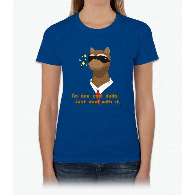I'm One Cool Dude Twenty One Womens T-Shirt