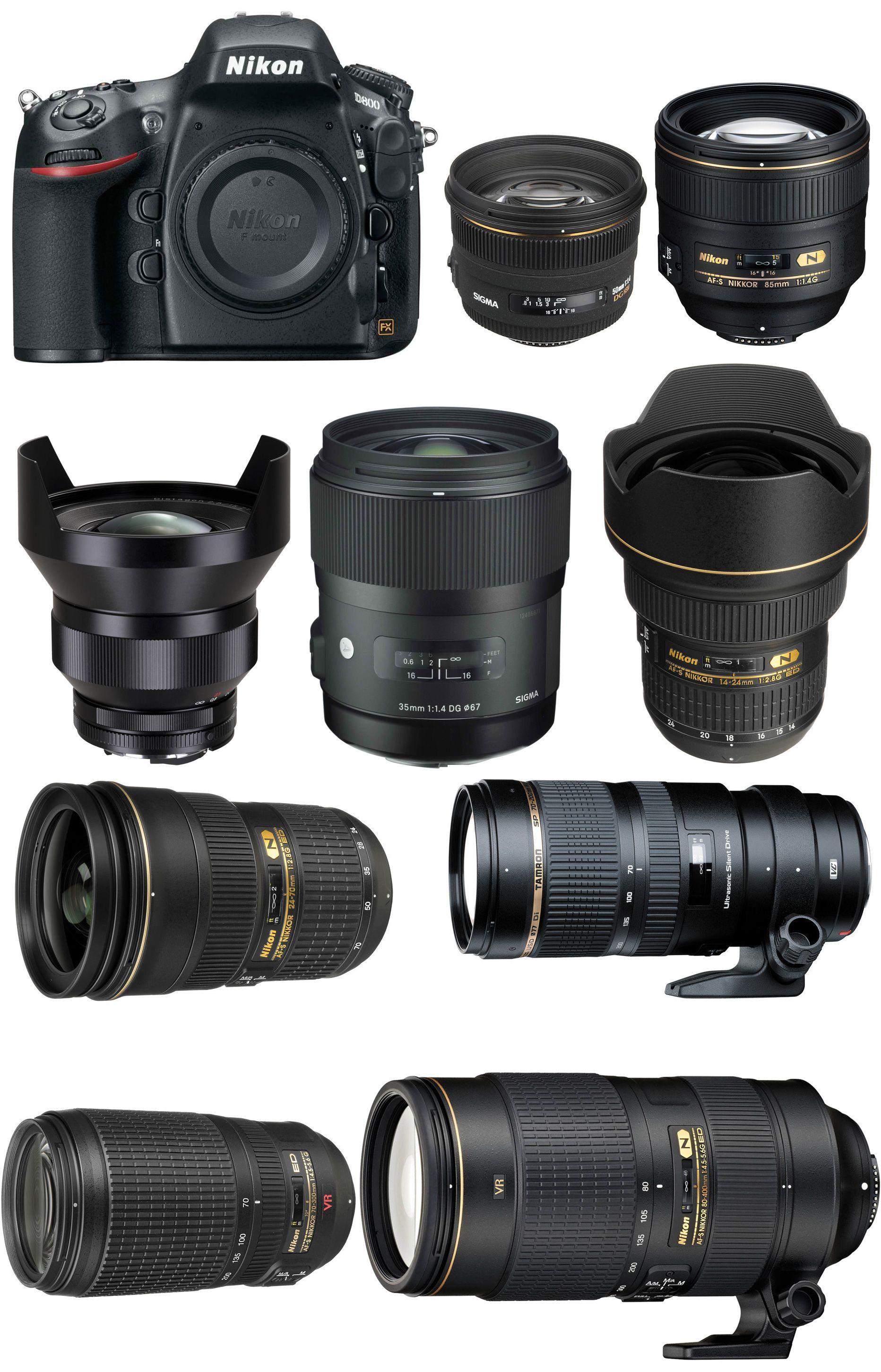 Best Lenses For Nikon D800 D800e Dslr Photography Camera