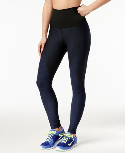 4f12eb1de5331 Nike Zoned Sculpt Compression Leggings   Macy's   Leggings, Fitness ...