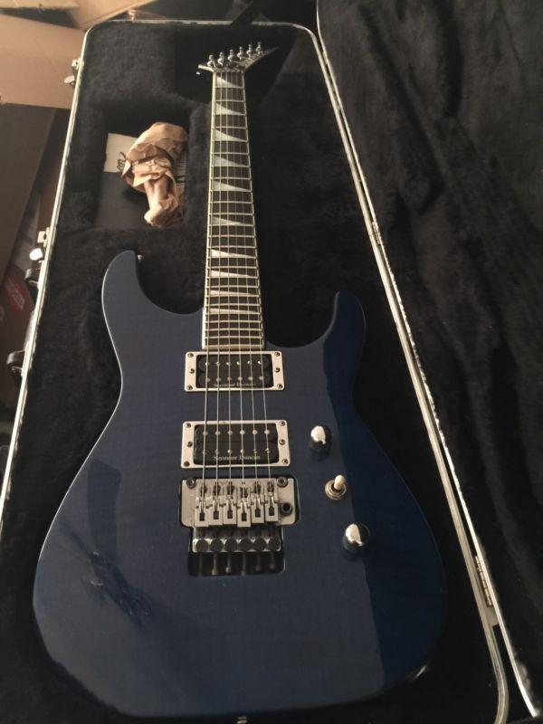 jackson usa select soloist sl2h used electric guitar transparent blue jackson used electric. Black Bedroom Furniture Sets. Home Design Ideas