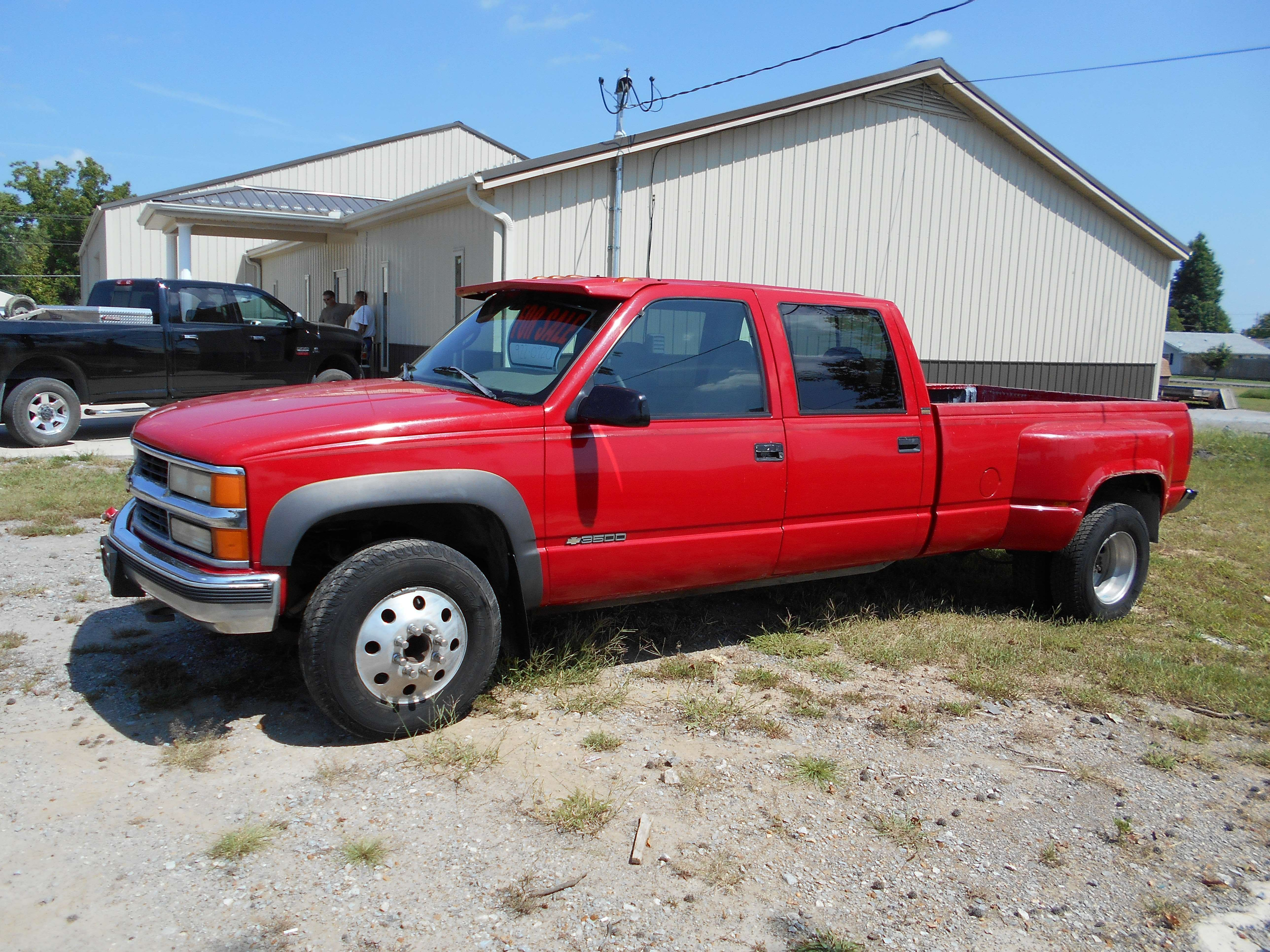 Make chevrolet model 3500hd dually year 1996 body style ute pick up exterior color red interior color gray doors four door vehicle condition good