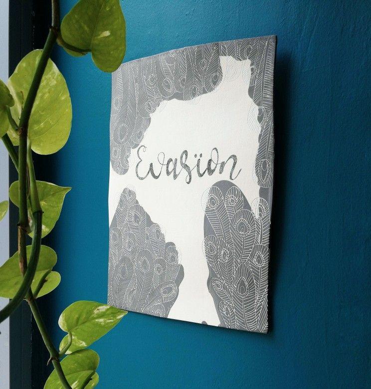 tableau en porcelaine evas on les petites porcelaines pinterest pottery decor et handmade. Black Bedroom Furniture Sets. Home Design Ideas