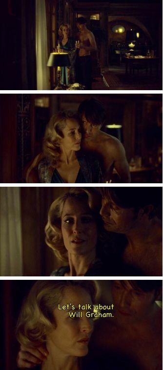 This is why Bedelia drinks  Hannibal edit. Source: fairweatherfrey.tumblr