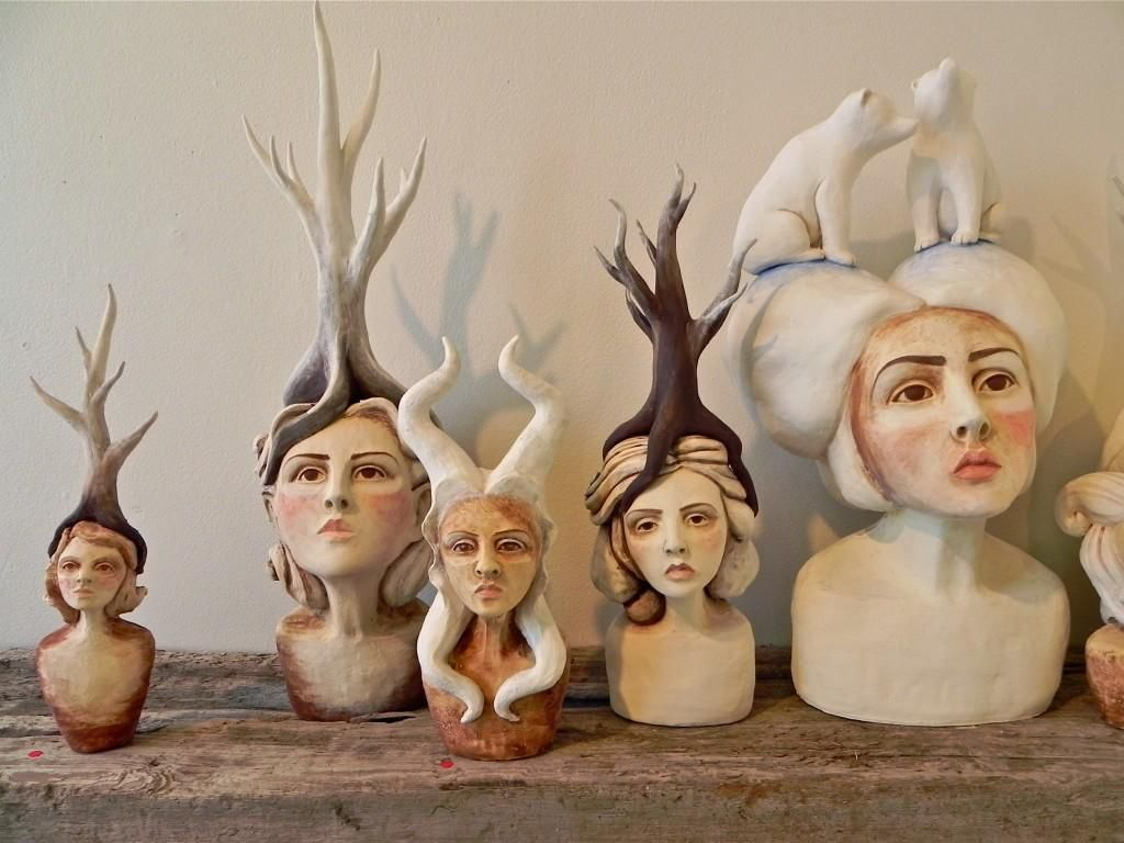 Crystal Morey In Our Nature At Compound Gallery Studios Oakland Art Enthusiast Ceramic Art Art Sculpture Art