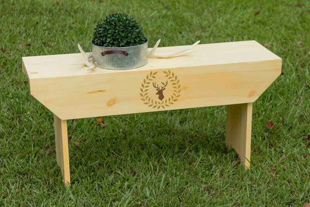 Oneboardbench, chalk paint DIY stencil, free PDF and
