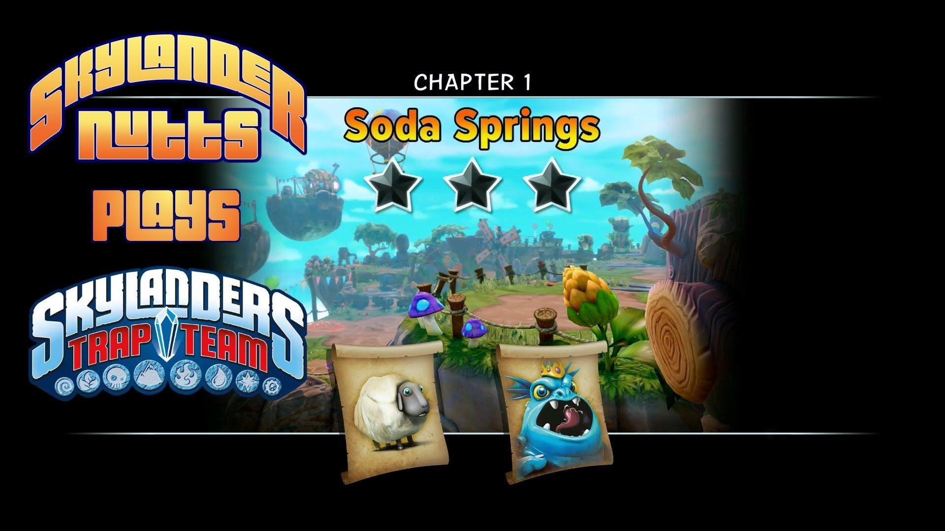 Skylanders Trap Team Chapter 1 Soda Springs Watch as