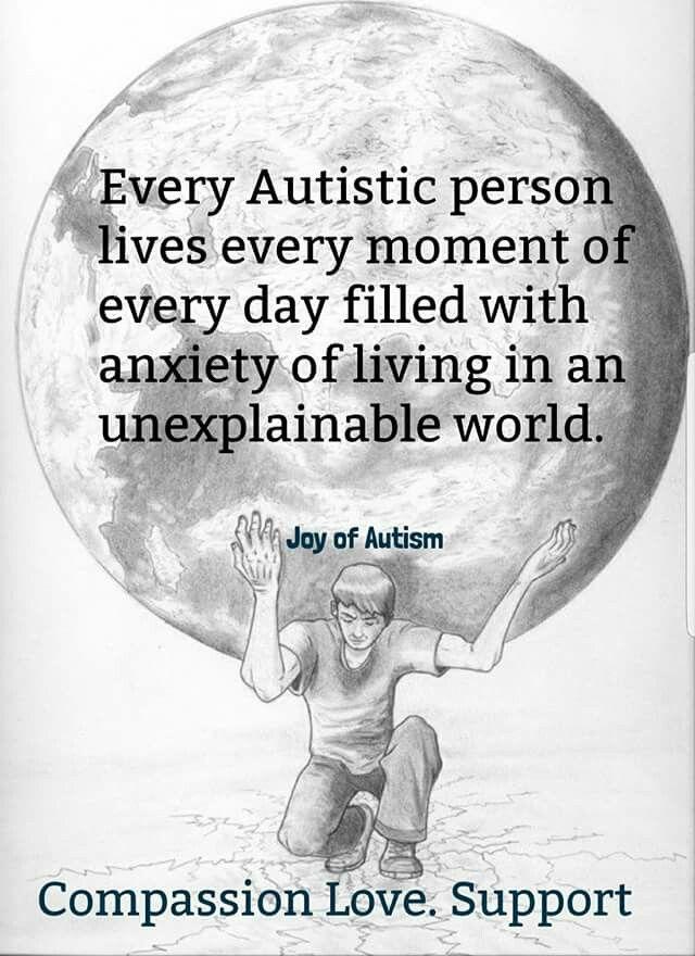 Autism awareness Print a4 Home Parent House Autistic Wall Art Photo