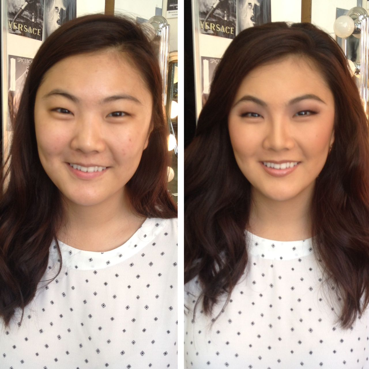Before And After Beauty Makeup Natural Makeup Asian Eye Makeup