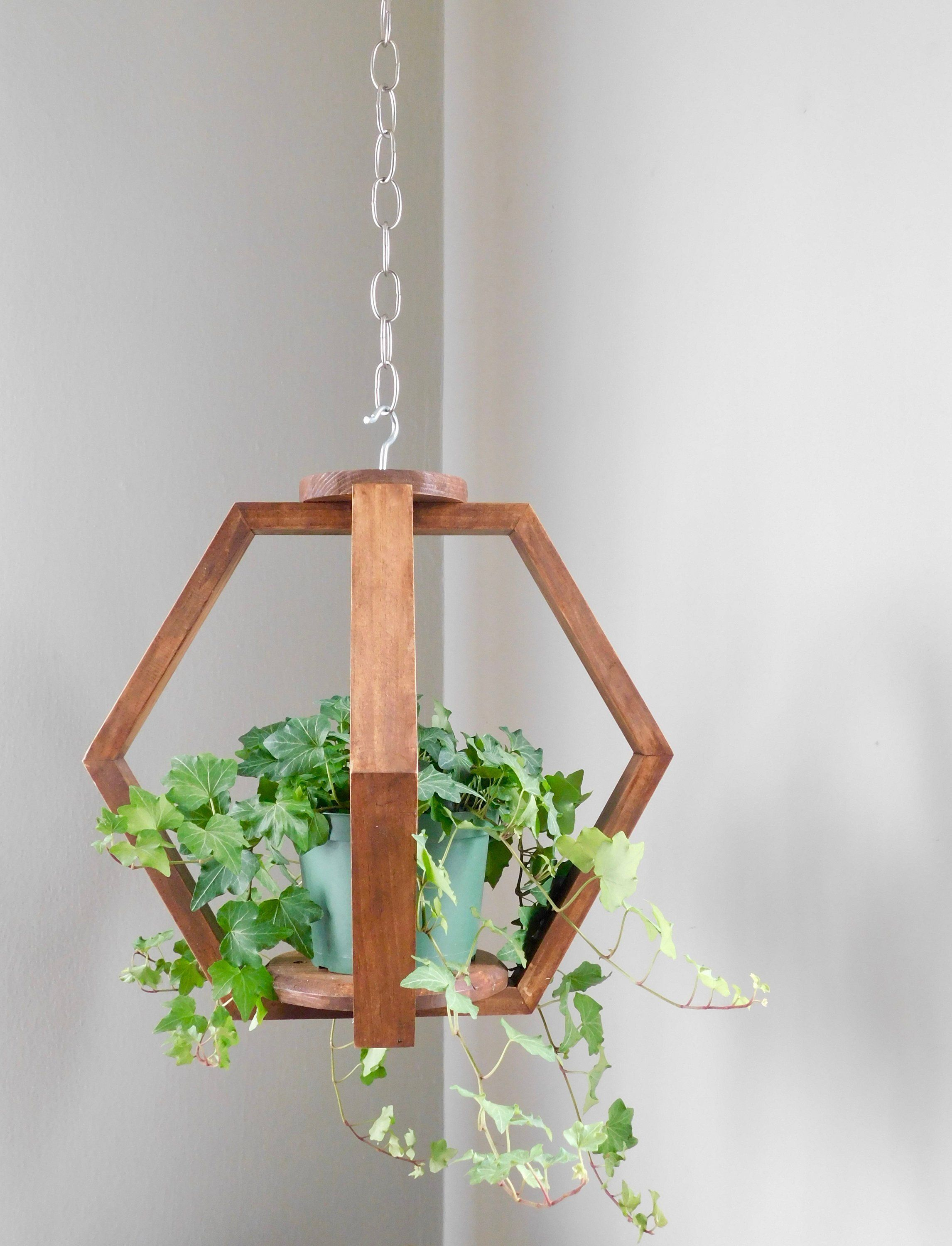 Wooden Plant Hanger Plant Holder Plant Hanging Ceiling Plant Hanging By Newprojectdesigns On Etsy Plant Decor Plant Hanger Ceiling Hangers