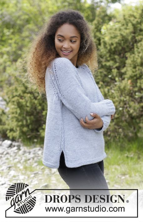 f530dcf6c4c1 Knitted jumper with cables and raglan