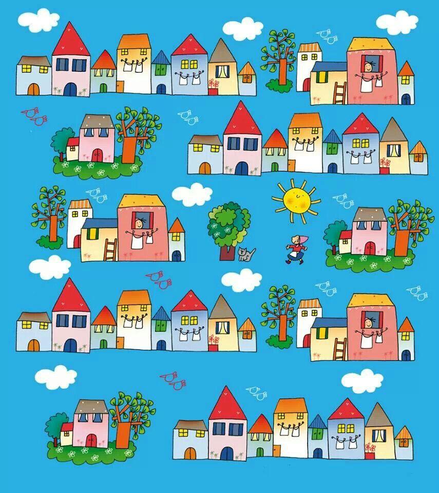 Pin by yumyumm on art houses so cute pinterest for Disegni nicoletta costa da colorare