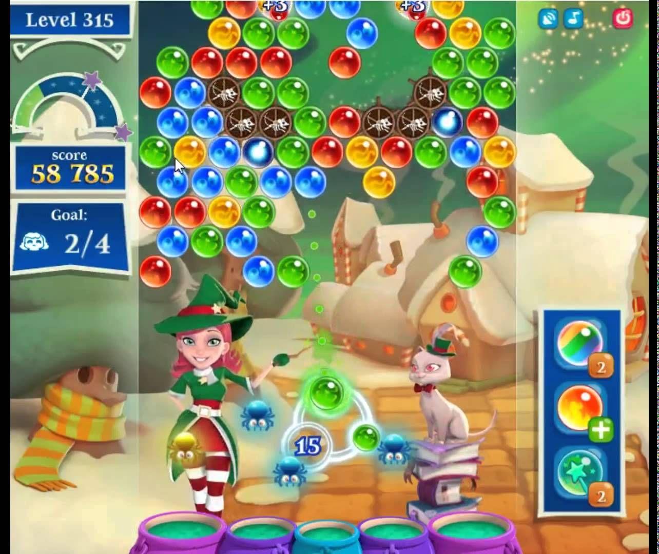 Pin on Bubble Witch 3 Saga Cheats