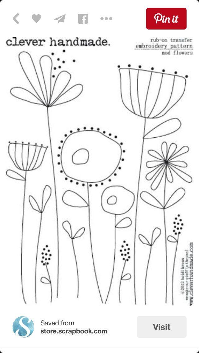 Pin de Lynette Miller en Embroidery | Pinterest | Bordado, Dibujo y ...