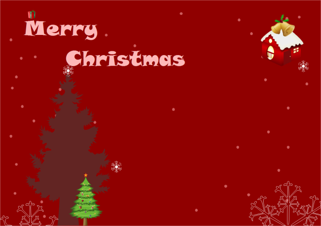 A Free Customizable Christmas Card Template Is Provided To Download And Pr Christmas Greeting Card Template Christmas Card Template Free Holiday Card Templates