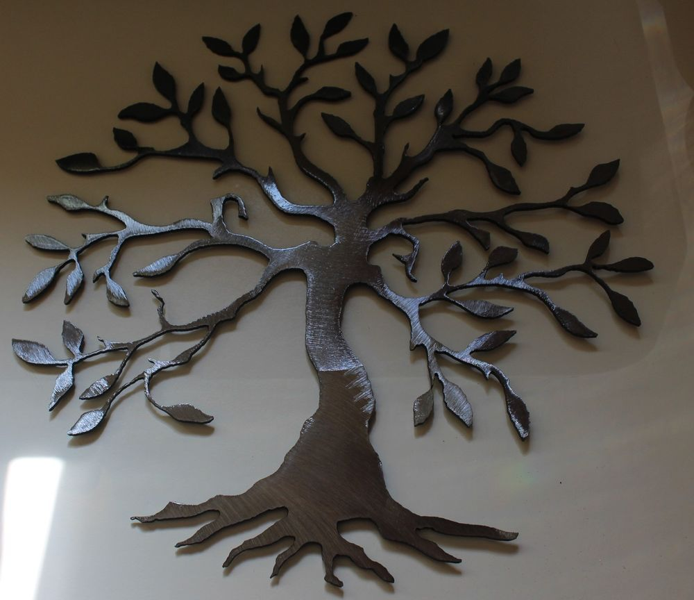 Olive tree tree of life silver