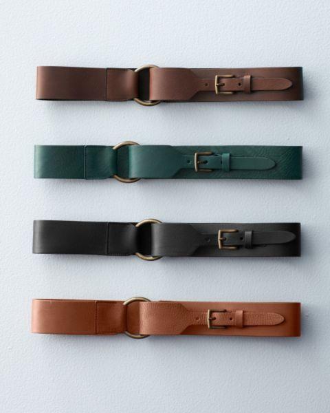 3d8cccb697 Eloisa Wide Leather Belt