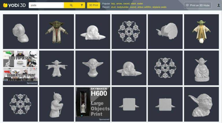 image of best sites for free stl files 3d printer models 3d printer files yobi3d