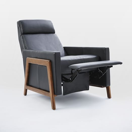 Terrific Spencer Recliner Weston Leather Cognac At West Elm Gmtry Best Dining Table And Chair Ideas Images Gmtryco