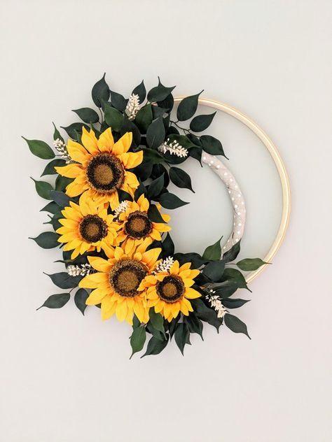 Photo of 47+ ideas hoop sunflower for 2019